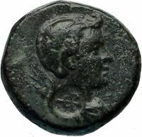 FULVIA wife of MARK ANTONY Very Rare Authentic Ancient Roman Coin  i83014