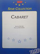 Liza Minnelli: Cabaret (by Kander & Ebb) (Piano/Vocal/Chords Sheet Music) MINT!