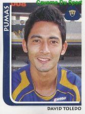 203 DAVID TOLEDO PUMAS UNAM MEXICO STICKER SUPERFUTBOL 2009 PANINI