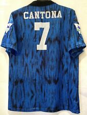 Manchester United 1992-1993 Away Umbro Football Shirt Size L Eric Cantona #7