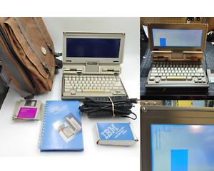 Vintage IBM PC Convertible 5140 Computer PARTS/REPAIR