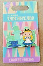 Disney Alice In Wonderland Its A Small Fantasyland Disneyland Disney Pin Le