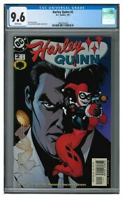 Harley Quinn #2 (2001) 1st Series Dodson Cover CGC 9.6 LK966