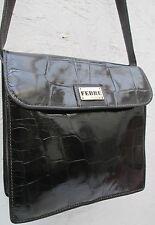 -AUTHENTIQUE sac à main type sacoche GIANFRANCO FERRE   cuir TBEG vintage bag