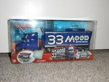 NEW Disney Cars Mood Springs Hauler truck #14 open and load