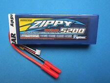 5200mAh 2S 7.4V 30C HARDCASE LIPO BATTERY 4MM ROAR TRAXXAS REDCAT BUGGY TRUCK RC
