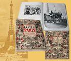LA VIE A PARIS SOUS LE SECOND EMPIRE ET LA TROISIÈME RÉPUBLIQUE Parigi