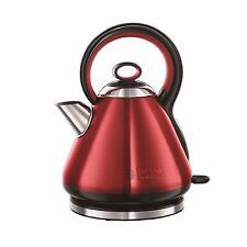 Russell Hobbs Red 1.7L 2400W Electric Fast Rapid Boil Cordless Jug Kettle New