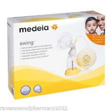 NEW Medela Swing Electric Breast Pump with Calma Bottle + Receipt for Warranty