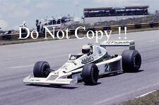 Alan Jones Williams FW06 Brazilian Grand Prix 1979 Photograph