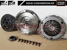 FOR TOYOTA AVENSIS 2.0 D4D DUAL MASS TO SOLID FLYWHEEL CLUTCH CONVERSION 03-06