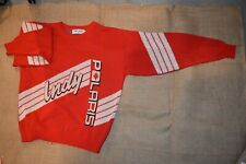VINTAGE POLARIS SIZE LARGE L SWEATER SNOWMOBILE INDY SLED RARE WINTERWEAR USA
