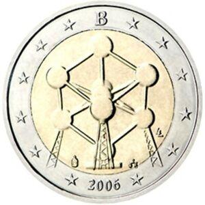 2006 Belgium 2 Euro mint UNC Atomium rare. TRACKED SHIPPING