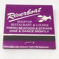 Vintage Matchbook New Westminster British Columbia Advertisement Riverboat