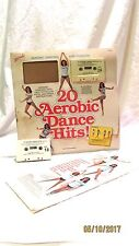 20 Aerobic Dance Hits Cassettes Music with Instructional Fold Out