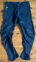 Gstar Arc Loose Tapered Jeans Mens Dark Blue Very Good Condition Pre Owned