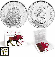 2013 'Everyday Canada - The Maple Leaf Tartan' 50-Cent Coin (13164)