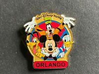 WDW Name Pin FAB 4 - ORLANDO Goofy Pluto Donald Mickey Disney Pin 28802