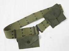 Original US Army WW2 Koppel pistol belt M36 Set M1 Magazintasche First Aid pouch