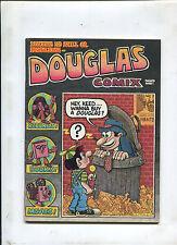 "1972 ""Douglas Comix"" #1 Underground comic Art Spiegleman R.Crumb w/order card"