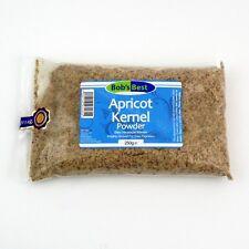 ORGANIC polvere di nocciolo di albicocca - 250g-Nuts & Semi Di Bob's Best