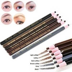 4Pcs Waterproof Microblading Eyebrow Peel-off Pencils Eye Brow Makeup Cosmetics