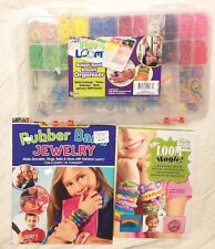 Looms Rubber Band Starter Kit with Two Beginner Books Kids Girls Sale Gift Bulk