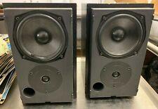Mission Hi Fi Speakers Black 30 cms Model 780 2 Way 6 Ohms 2 way reflex 25-75W