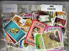 CHATS 500 timbres différents
