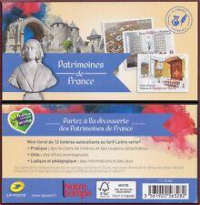2013 FRANCE Carnet C 865** Patrimoines de France - TB, Booklet MNH