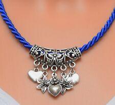 Dirndl Halskette blau Schmuck Trachtenschmuck Trachten Oktoberfest Wiesn