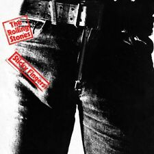 The Rolling Stones - Sticky Fingers 40 X 40cm Album Cover Canvas Print Dc95164c