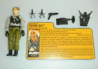 1988 GI Joe Night Force Psyche Out v2 Figure w/ File Card *Near Complete* *READ*