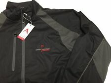 Antiqua Golf Jacket XL Desert Dry Xtra Lite Black Nabisco