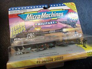Micro Machines Military Terror Troops #1 Shadow Squard