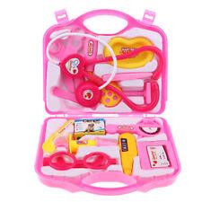 Doctor Kit Pretend Play  Set Doctor Nurse Game Playset Toys Pink