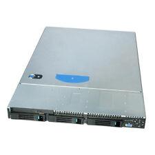 INTEL 19 Zoll 1HE  Gehäuse Server Industriegehäuse 600 Watt 3 x SATA HOTSWAP