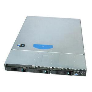 INTEL 19 Zoll 1HE  Gehäuse Server Industriegehäuse 600 Watt 3x SATA (2x HOTSWAP)