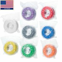 colorful Creality 1kg 1.75mm 3mm PLA ABS 3D Printer Filament Multiple Color