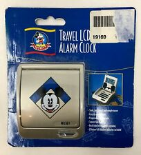 Vintage Mickey Mouse Travel LCD Alarm Clock