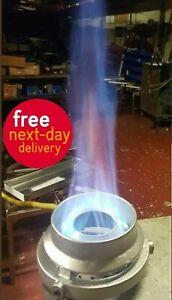 CHINESE WOK COOKER Turbo Burner 21 Jet Vortex Commercial Burner Natural Gas