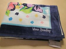 """Vera Bradley Large 33"""" x 66""""  Beach Towel Marian Floral Print New With Tag"""