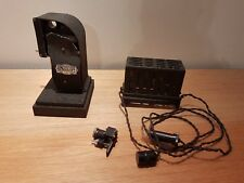 Cine film projector Bingoscope plus transformer damaged