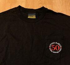 Fiited Hawaii Pocket T-Shirt Size Men's Large NEW