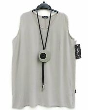 NEU SARAH SANTOS Top Basic Shirt Tunika Tunic XL 48 50 Lagenlook