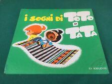 ACCIPICCHIA I SOGNI DI TOTO E TATA Ed. La Sorgente (1962) Libro illustrato PAUL