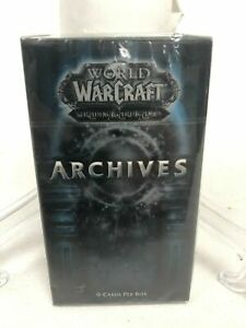 World of Warcraft WOW TCG Archives Booster Pack (chance at Loot Spectral Tiger)