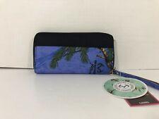 Hot Shot Gear Real Tree Zip Around Wallet Blue NWT