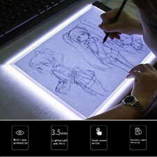 A5 LED Art Stencil Board Light Box USB Tracing Drawing Table Adjustable Pad USA