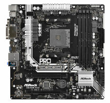 Brand new ex-disp Asrock AB350M PRO4 AMD Ryzen Socket AM4 DDR4 with accessories